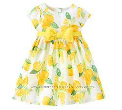 Нарядые платья от американских брендов GYMBOREE и Childrens Place