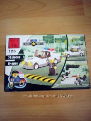 Конструктор Лего аналог полицейская машина
