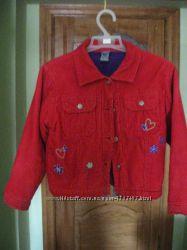 Курточка вельветова 115см
