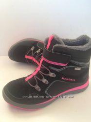 Ботинки утепленные для девочек Merrell M-Moab Fst Polar Mid AC Wtrpf 1735ecc3dd766