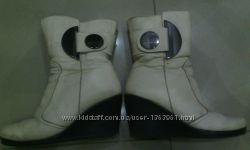 ботиночки на натур меху
