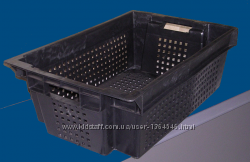 Пластмасові ящики для зберігання купити на сайті promtara com ua