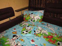 Постель Далматинцы-двухспальный комплект.