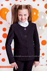 Жакет шкільний для дівчинки чорного кольору