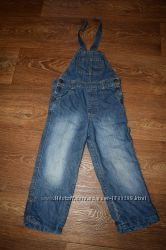 джинсовый комбинезон 24-36 мес, 98 см