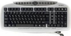 Клавиатура A-4 Tech KB-21, черный USB