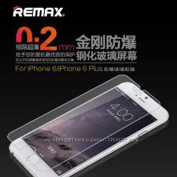 Защитное, закаленное стекло Remax Glass Crystal Screen 9H для iPhone 6 plus