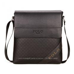 Мужская сумка - планшет POLO Videng corner Наплечная Классика 2 цвета