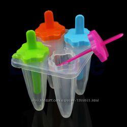 Формы для мороженного, замороженного сока или леденцы на палочке STAR