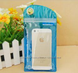 Чехол влагозащитный SwimPhone для телефона, кредиток, денег. 15х9 см