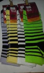 Носки женские Талько , житомирские, хлопковые, полоска в виде спирали