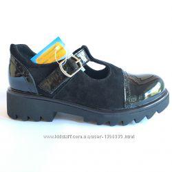 Туфли для девочек, натур. кожа, р. 29-35