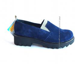 Туфли Orthobe, натур. замша, р. 29-35