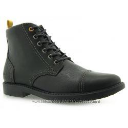Шкіряні черевики Clarks Boys Zayne Smooth Black Leather