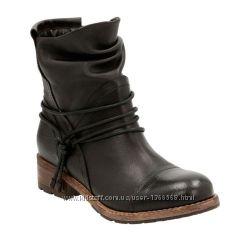Шкіряні черевики Clarks Volara Dina Black