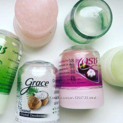 Тайский твердый натуральный дезодорант из природных квасцов солевой дезодо