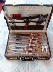 Набор ножей в чемодане RoyaltyLineSwitzerlend, 24 предмета.