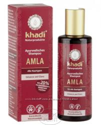 Аюрведический шампунь Кхади AMLA для всех типов волос Khadi 210 мл