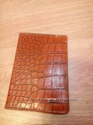 Мужской кожаный кошелек портмоне с отд. для водительских прав Gesi