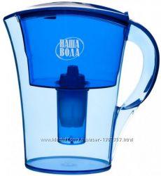 продам Кувшин-фильтр Наша Вода Лагуна 2. 1 литра