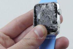 Защитная пленка. Ультратонкое стекло для Apple Watch 42mm Tempered Glas
