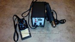 Паяльная станция NT 878D фен паяльник Подбор аксессуаров к мобильным и п