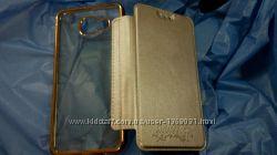 Прозрачный Чехол книга Xiaomi Redmi Note 3 Xiaomi Mi 5 Samsung J105 J5 A310