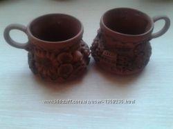 кофейные чашки керамика глина