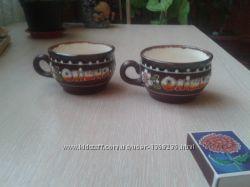 Глиняные чашки керамика