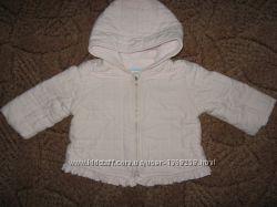 Курточка Chicco девочке 9 месяцев, рост 68 см