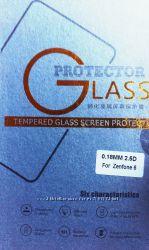 Защитное стекло Asus ZenFone 2 5 и 5. 5, 4, 5, 6, C 0. 18mm.