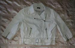 Куртка косуха стильная бежевая р. 50-52 евро 18