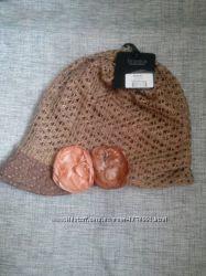 женская шапка braska с козырьком