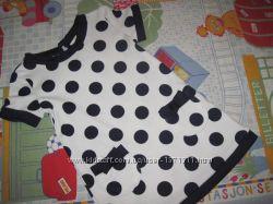 Young Dimension Новое платье - сарафан туника для девочки 9-12 мес. 80