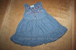 Джинсовое платье - сарафан Topolino в отличном состоянии