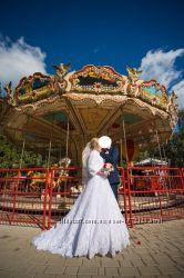 Продам свое свадебное платье французского дизайнера Etienne Leroy.