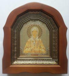 Икона Святая блаженная Матрона. Киот. Украина.