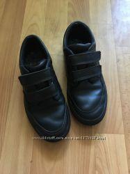 Кожаные туфли кеды 35-36 размер