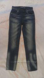 Утепленные джинсы GeeJay девочке 9-10 лет рост 140 см