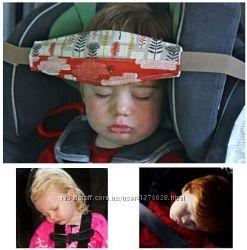 Защитный ремень накладка, подушка, фиксатор для головки ребенка.