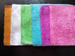 Бамбуковая салфетка для мытья посуды антижирная