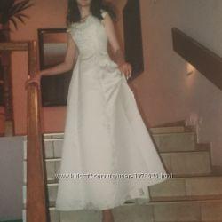 Выпускное свадебное платье, размер XS-S