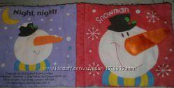 Книжка из ткани для детей от 3месяцев до 3-4 лет