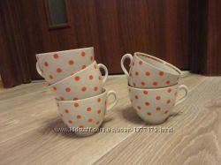 Продам 5 чашек для чая