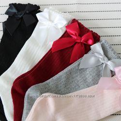 Гольфы детские гетры длинные носки нарядные для девочки гольфики