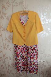 Платье и пиджак, размер 54-56