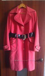 Пальто деми кашемир, снизила цену