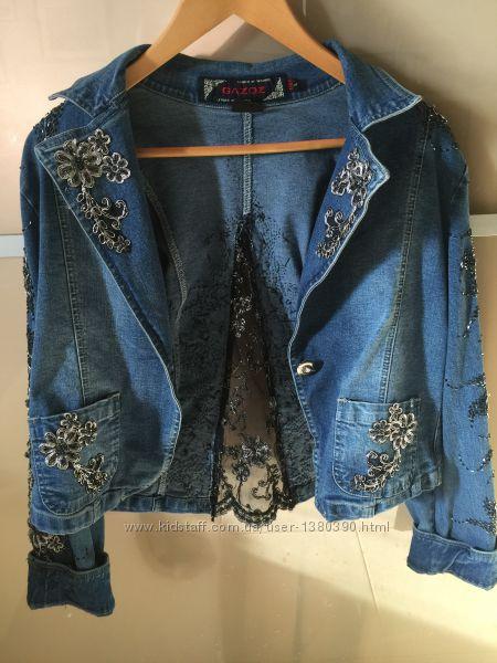 Куртка джинсовая Gazoz