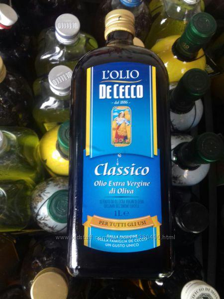 Оливковое масло de cecco extra vergine classico