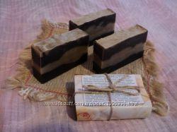 Натуральное мыло Шоколадное с имбирем и корицей